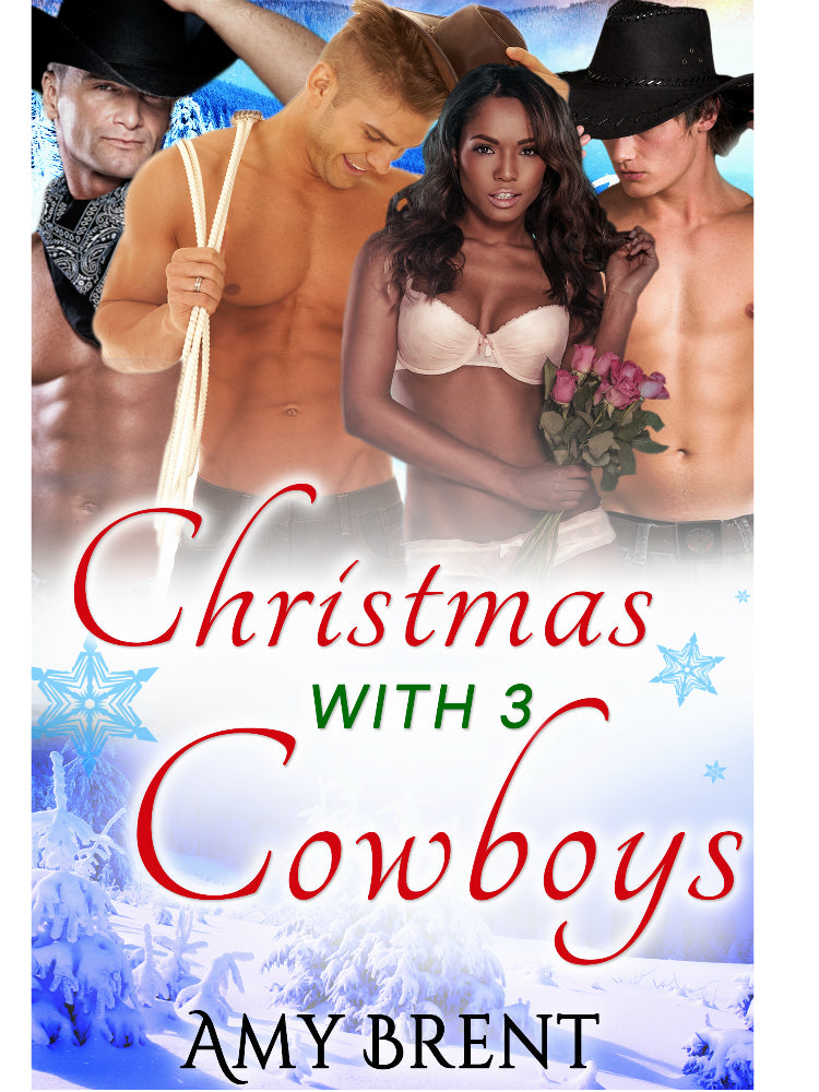 Christmas With Three Cowboys