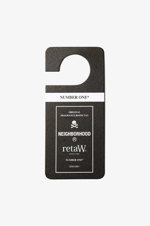 "Selectshop FRAME - NEIGHBORHOOD retaW ""Number One"" Room Tag Lifestyle Dubai"