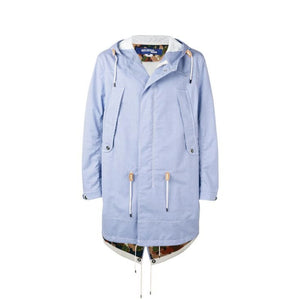 FRAME - JUNYA WATANABE MAN Check Print Hooded Coat