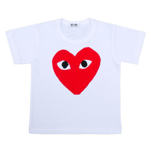 Selectshop FRAME - COMME DES GARCONS PLAY Red Heart T-shirt Kids Dubai