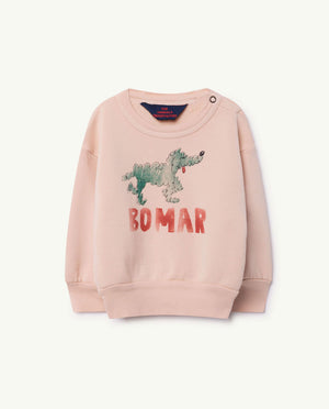 Bear Kids Sweatshirt Rose Green Bomar