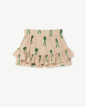 Kiwi Skirt Beige Animals