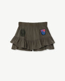 Selectshop FRAME - THE ANIMAL OBSERVATORY Kiwi Skirt Green Animals Kids Dubai