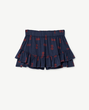 Kiwi Skirt Blue Circles