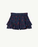 Selectshop FRAME - THE ANIMAL OBSERVATORY Kiwi Skirt Blue Circles Kids Dubai