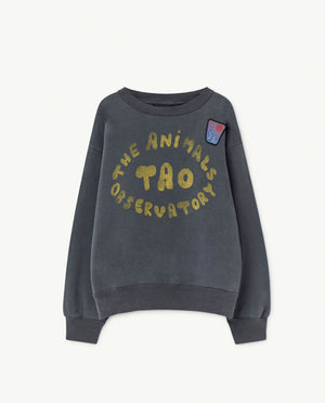 Selectshop FRAME - THE ANIMAL OBSERVATORY Bear Sweatshirt Blue The Animals Kids Dubai