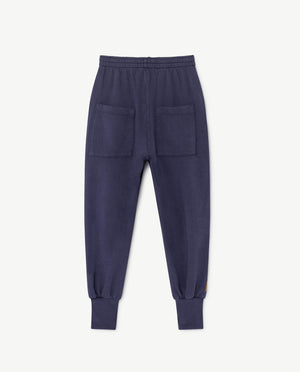Dromedary Pants Blue Stripes