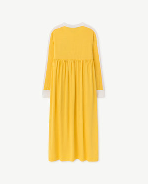 Cockatoo Dress Yellow Shield