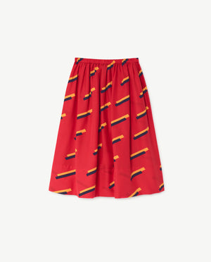 Selectshop FRAME - THE ANIMAL OBSERVATORY Red Sow Skirt Kids Dubai