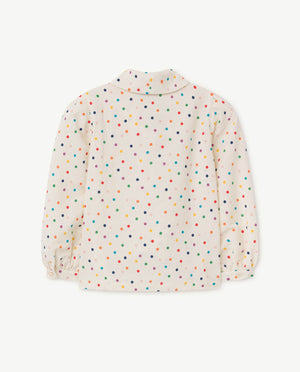 Selectshop FRAME - THE ANIMAL OBSERVATORY Dots Gadfly Shirt Kids Dubai