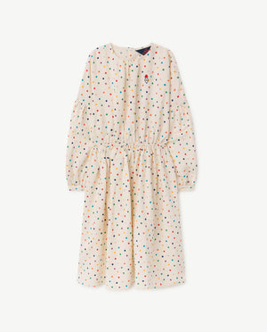 Selectshop FRAME - THE ANIMAL OBSERVATORY Dots Tortoise Dress Kids Dubai