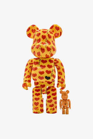 "FRAME - MEDICOM TOY Japan X ""Hide"" Be@rbrick 400%+100%"