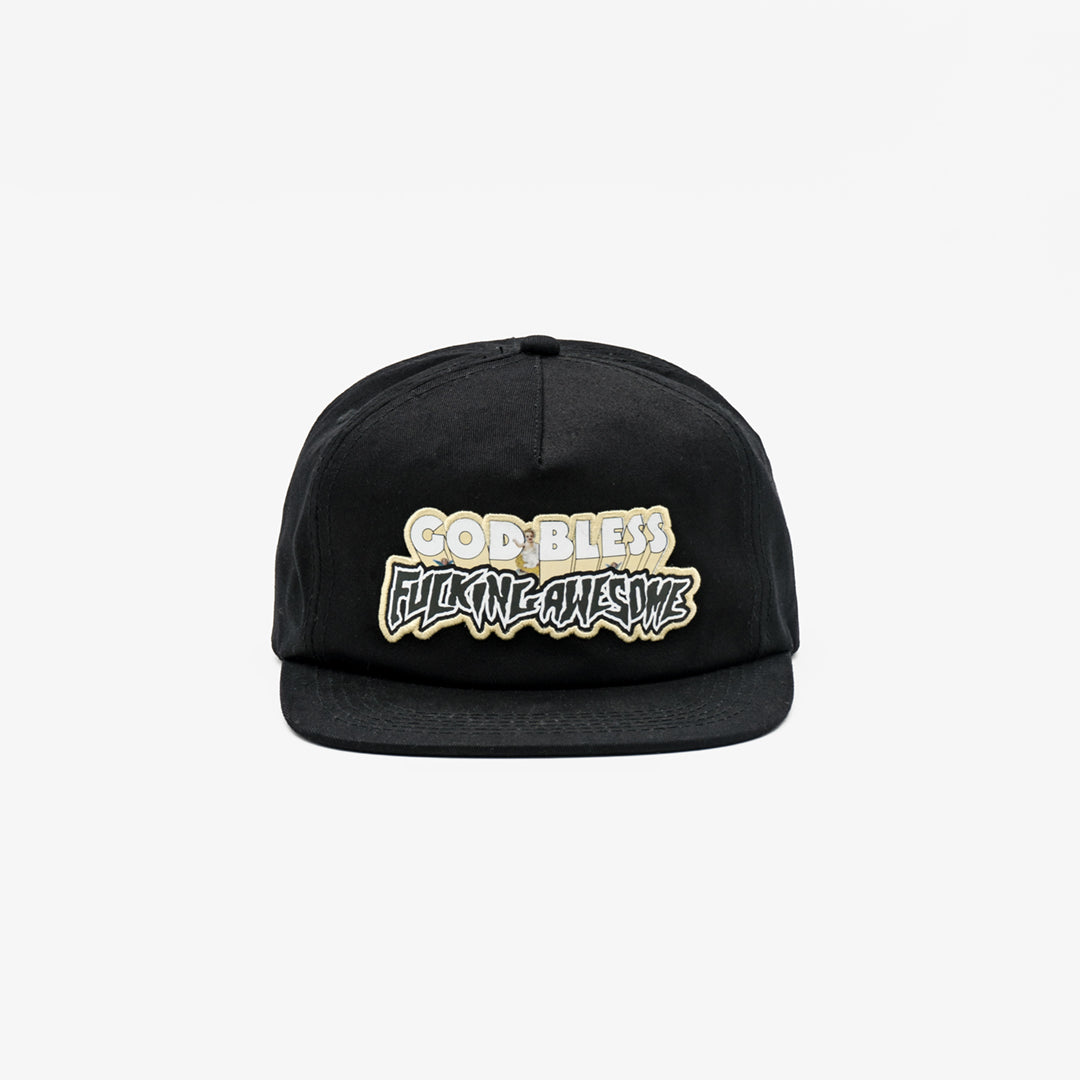 Selectshop FRAME - FUCKING AWESOME God Bless Hat Accessories Dubai