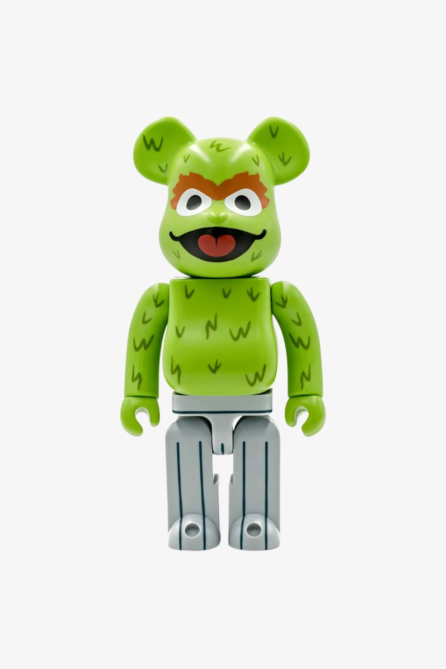"Selectshop FRAME - MEDICOM TOY Sesame Street ""Oscar The Grouch"" Be@rbrick 400% Toys Dubai"
