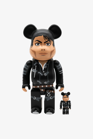 "Selectshop FRAME - MEDICOM TOY Michael Jackson ""BAD"" Be@rbrick 400%+100% Toys Dubai"