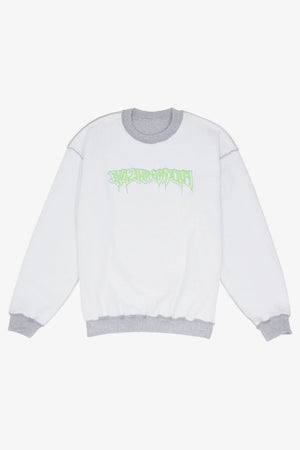 Reversible Empty Drip Crewneck