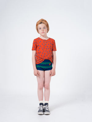 Selectshop FRAME - BOBO CHOSES Apples Buttons T-Shirt T-Shirts Dubai