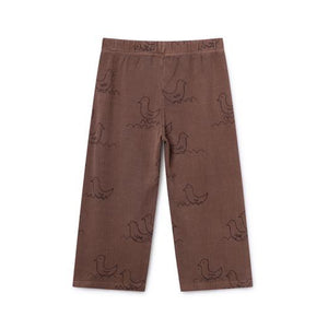 FRAME - BOBO CHOSES Brown Geese Straight Pants