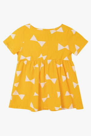 Selectshop FRAME - BOBO CHOSES All Over Bow Dress Kids Dubai