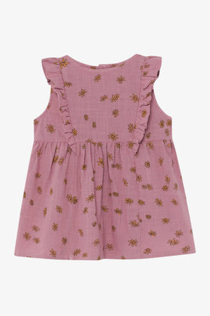 Selectshop FRAME - BOBO CHOSES All Over Daisy Ruffle Dress Kids Dubai