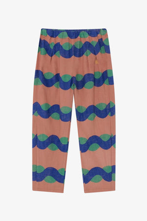 All Over Sea Baggy Trousers