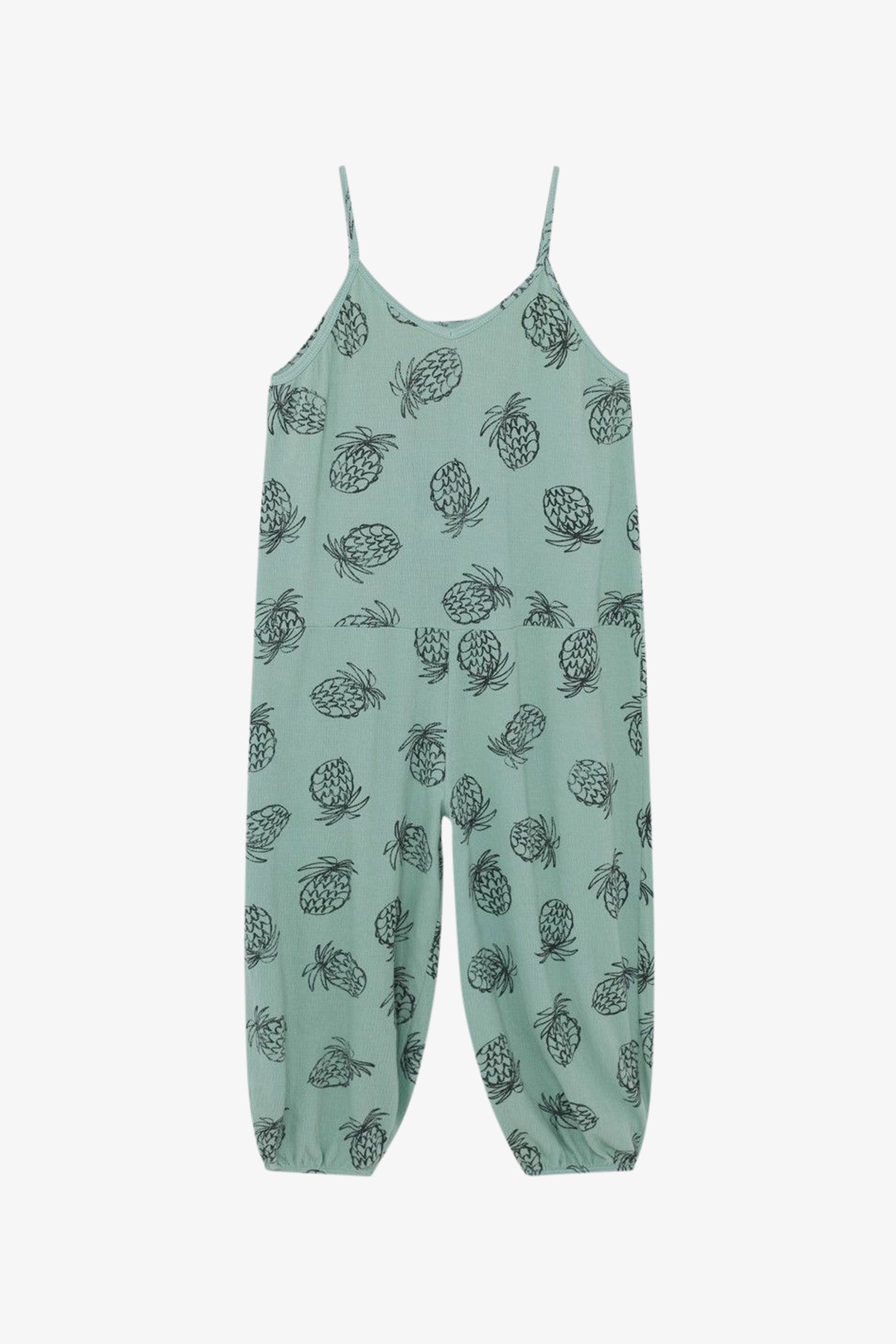 Selectshop FRAME - BOBO CHOSES All Over Pineapple Jersey Overall Kids Dubai