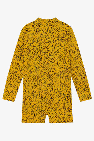 Selectshop FRAME - BOBO CHOSES All Over Leopard Swim Playsuit Kids Dubai