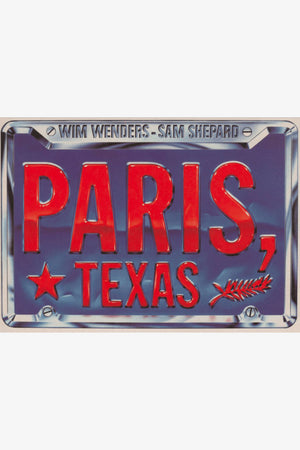 Selectshop FRAME - IDEA PARIS, TEXAS License Plate T-Shirt T-Shirt Dubai