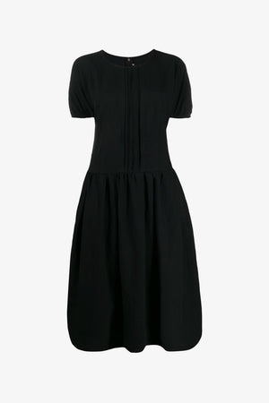 Pleat Shift Dress