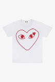 Selectshop FRAME - COMME DES GARCONS PLAY Empty Big Red Heart T-Shirt T-Shirt Dubai