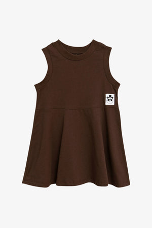 Solid Cotton Tank Dress