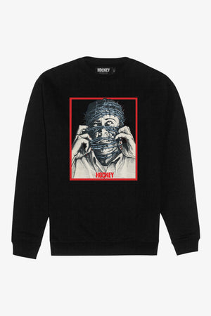 FRAME - HOCKEY Barbwire Crewneck Sweater