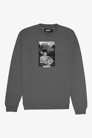 FRAME - HOCKEY Lamb Girl Crewneck Sweater