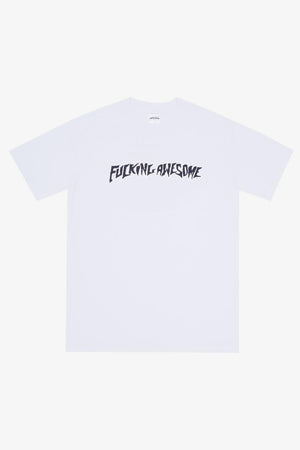 Selectshop FRAME - FUCKING AWESOME Puff Outline Logo Tee T-Shirt Dubai