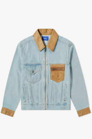 Selectshop FRAME - RASSVET Light Denim Jacket Outerwear Dubai