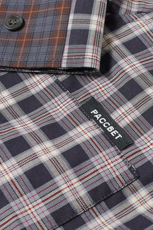 Selectshop FRAME - RASSVET Mixed Check Shirt Shirt Dubai