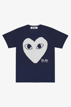 Selectshop FRAME - COMME DES GARCONS PLAY Big White Heart T-Shirt T-Shirt Dubai