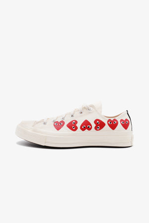 Converse Chuck Taylor All Star '70 Low Multi Red Heart