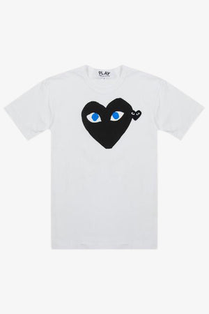 Selectshop FRAME - COMME DES GARCONS PLAY Big Black Heart Blue Eyes T-Shirt T-Shirt Dubai