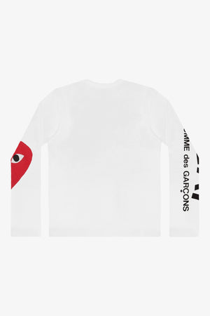 Selectshop FRAME - COMME DES GARCONS PLAY Big Heart Longsleeve T-Shirt Dubai