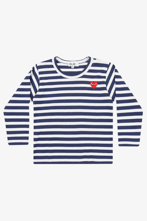 Selectshop FRAME - COMME DES GARCONS PLAY Blue Stripes Longsleeve Kids Dubai