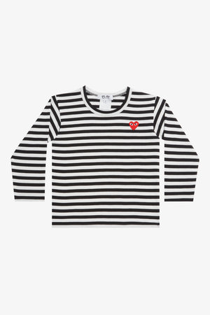 Selectshop FRAME - COMME DES GARCONS PLAY Black Stripes Longsleeve Kids Dubai