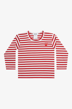 Selectshop FRAME - COMME DES GARCONS PLAY Red Stripes Longsleeve Kids Dubai