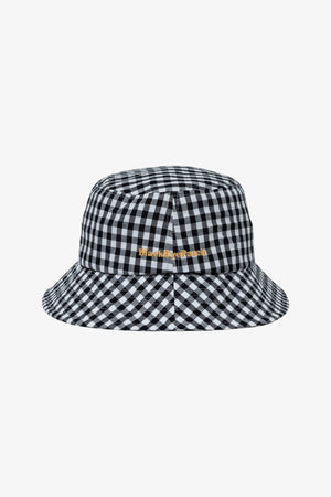 Selectshop FRAME - BLACKEYEPATCH Gingham Check Buket Hat Headwear Dubai