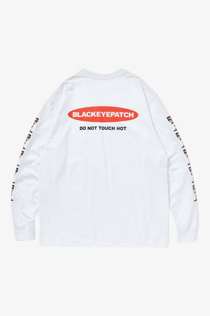 Selectshop FRAME - BLACKEYEPATCH Danger Hot Label Longsleeve Tee T-Shirt Dubai