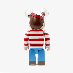 "FRAME - MEDICOM TOY Where's Wall? ""Wally"" Be@rbrick 400%"