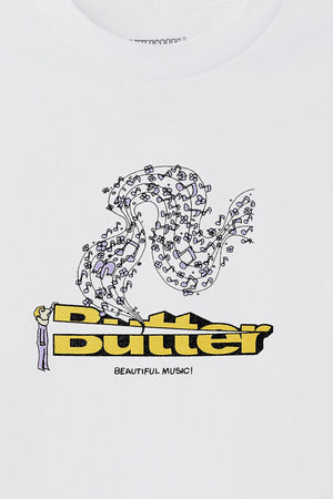 Selectshop FRAME - BUTTER GOODS Beautiful Music Tee T-Shirt Dubai