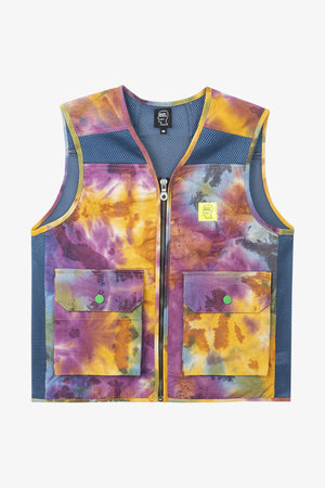 Dyed Canvas Spacer Mesh Tactical Vest