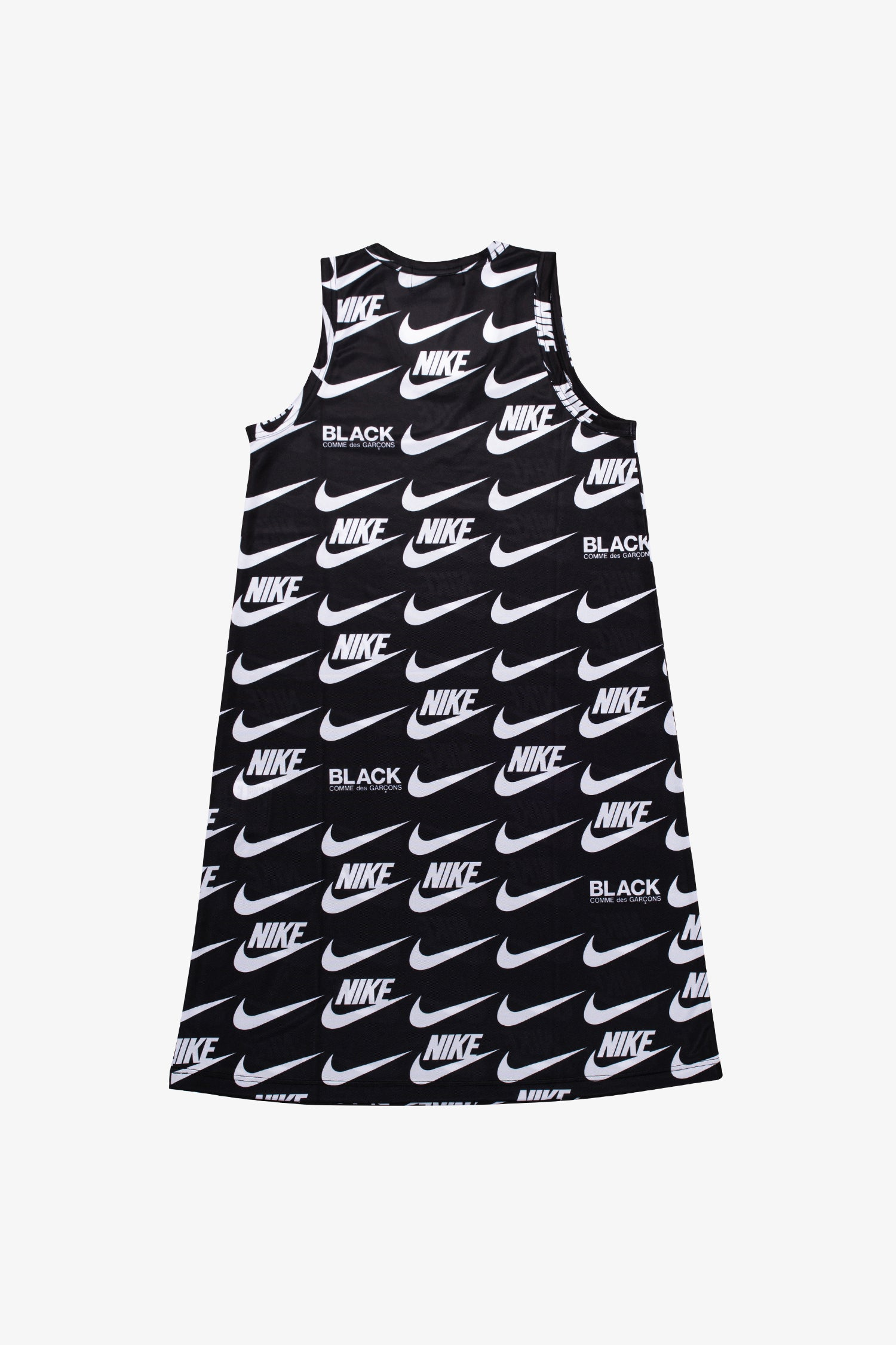 Selectshop FRAME - COMME DES GARCONS BLACK Nike Sleeveless Swoosh Midi Dress Dress Dubai