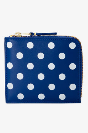 Polka Dot Leather Wallet (SA3100PD)